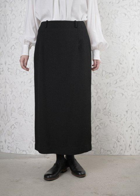ブラックストレートスカート