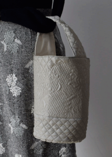 Quilt embroidery bag