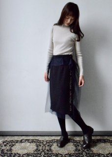 BEEDS EMBROIDERY SKIRTS