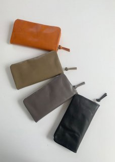 leather wallet with fastener