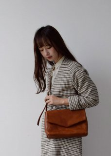 ohta  brown letter bag