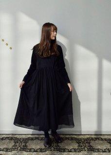 Wool gauze dress