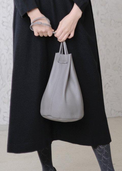 drawstring bag(シボあり)