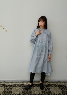 Shadow embroidery dress