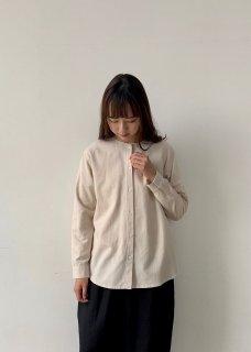 cotton wool nocollar shirt