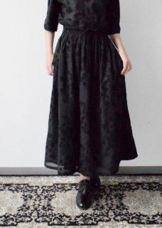 フェンネル刺繍スカート