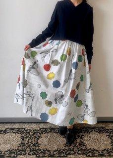imo white skirts