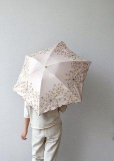 フェンネル刺繍 折りたたみ傘・長傘(晴天・雨天兼用)