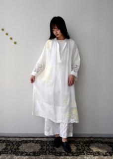 Table cloth dress yellow 【限定】