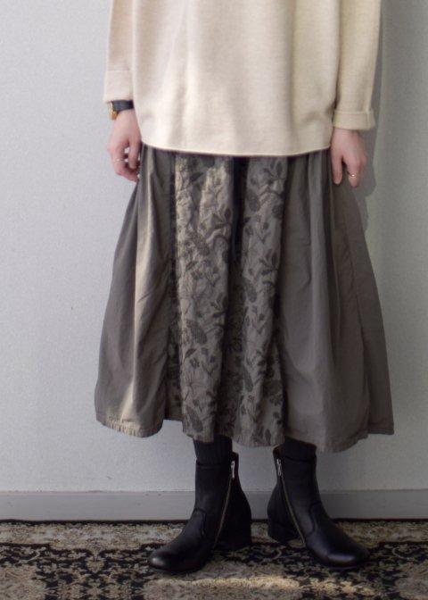 筆記帳刺繍製品染めスカート