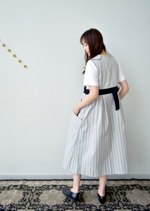 POTTERS APRON (STRIPE)