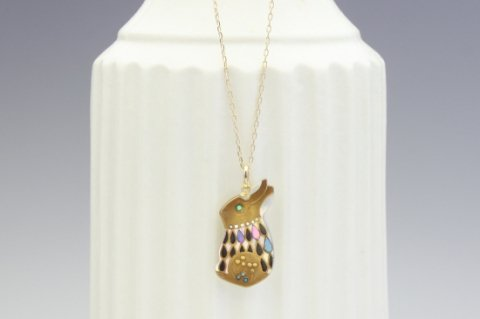 Rabbit petite pendant