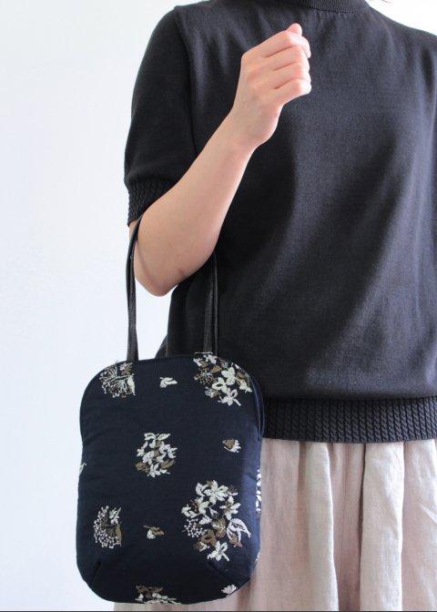 野小花刺繍のminiバッグ