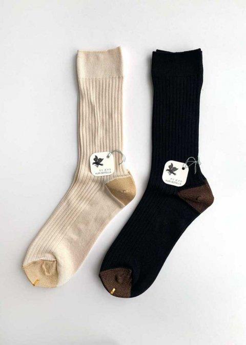 クリボテラ ソックス SILK-Rib socks