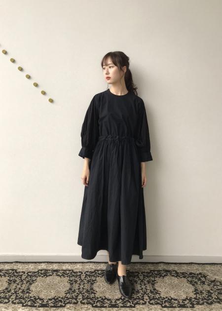 Beautiful Organic cotton monastery dress