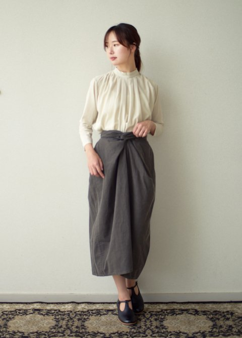 Beautiful Organic cotton wrapped skirt