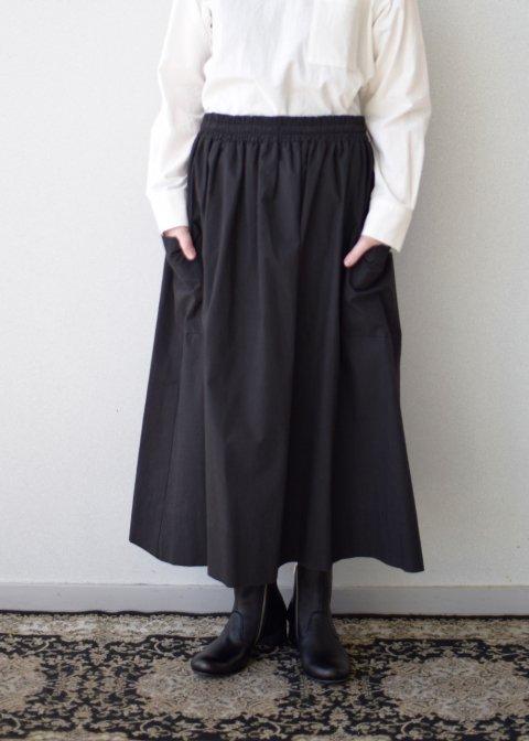 コットンパッチポケットスカート