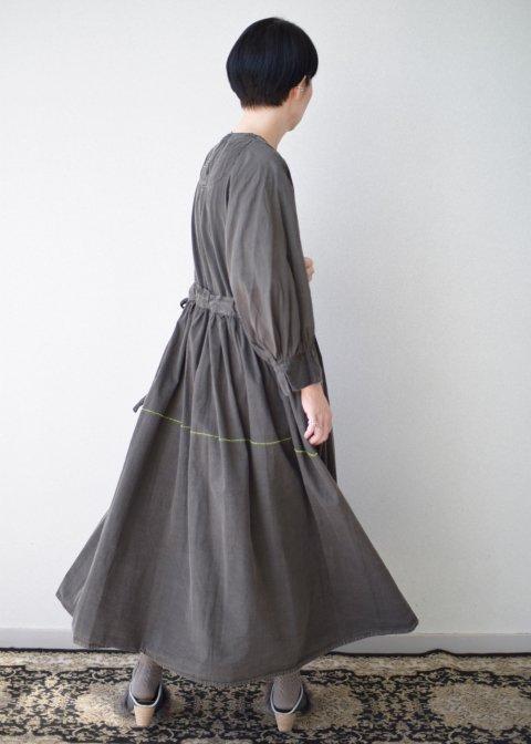 Beautiful Organic cotton monastery dress × 横尾香央留