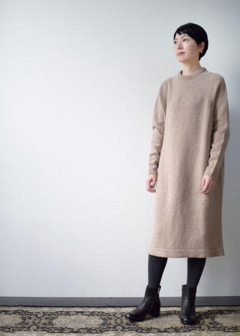 Beautiful Tasmanian wool knit sweater dress