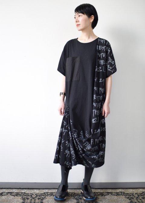 LETTER T-DRESS