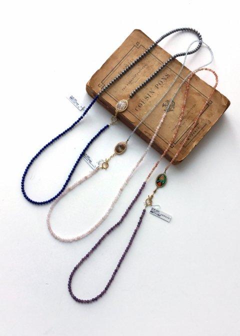yukunia  切手(リバーシブル)ネックレス 62(2way仕様)