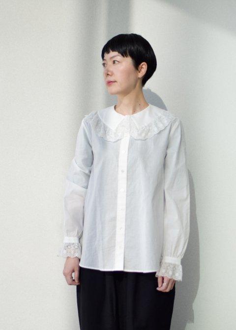 Valenciennes lace blouse