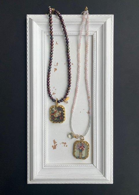 yukunia  切手ネックレス 85