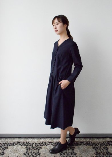 kurumi button formal one-piece