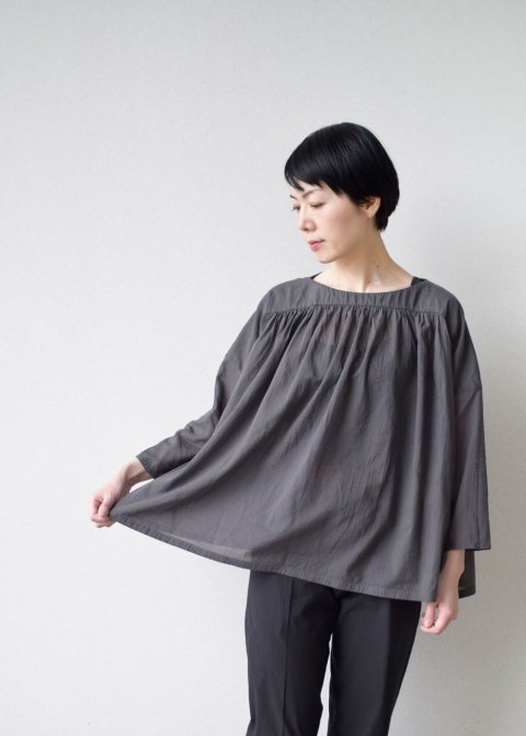 cotton voile pullover