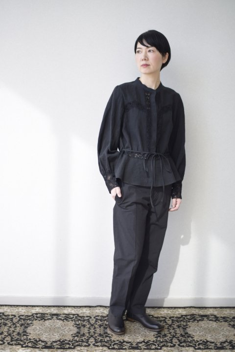 Cluny lace blouse