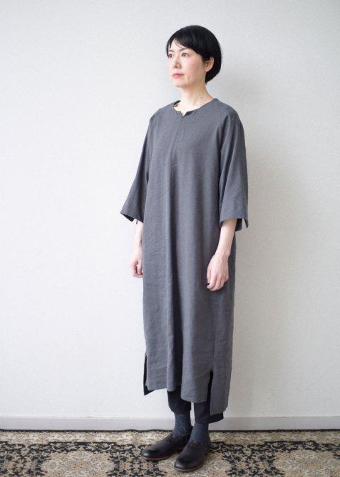 Silk & Linen smock dress