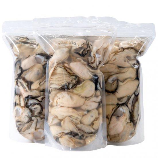 【おうちでカキまつり対象】むき牡蠣 3kg(1kg×3p)[加熱用]【送料込】