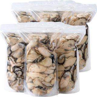 【おうちでカキまつり対象】むき牡蠣 6kg(1kg×6p)[加熱用]【送料込】