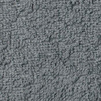 美容サロン用フェイスタオル 250匁 グレー (灰色) 12枚セット 業務用タオル