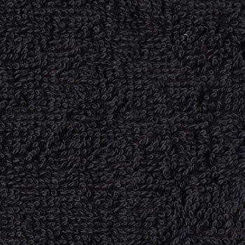 サロン用バスタオル 70×140cm ブラック (黒) 10枚セット まとめ買い 美容室タオル