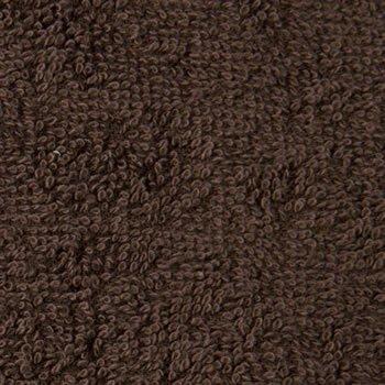 業務用 ハンドタオル ブラウン (茶色) 12枚セット 無地おしぼりタオル