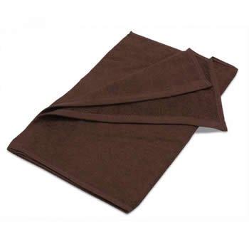 業務用タオル フェイスタオル 250匁 ブラウン (茶色) 12枚セット 美容室タオル