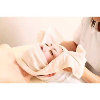 業務用タオル サロン用フェイスタオル 250匁 ネイビー (紺色) 12枚セット