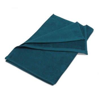 美容サロン用フェイスタオル 250匁 グリーン (緑色) 12枚セット 業務用タオル