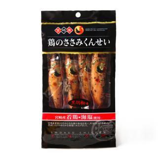鶏のささみくんせい 黒胡椒味 4本入