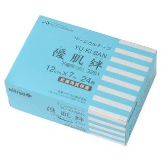メディカルサージカルテープ 優肌絆 不織布(白) 3個