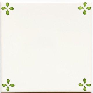 ポルトガルタイル(アズレージョ)【トレーボ・SD5】緑