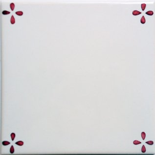 ポルトガルタイル(アズレージョ)【トレーボ・SD3】ピンク