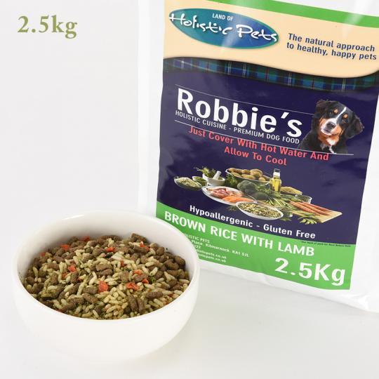 [イメージ] 玄米&ラム2.5kg