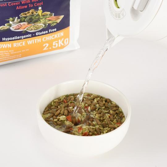 [イメージ] 玄米&チキン2.5kg