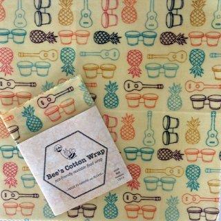 bee's  cotton ラップ ハワイアン