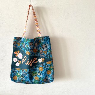 Rise Floral tote