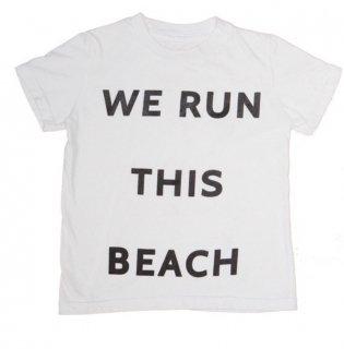 子供用Tシャツ WE RUN THIS BEACH