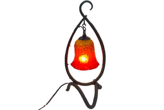 ランプ Mサイズ(オレンジ でこぼこフレア)