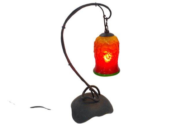 ランプ Mサイズ(オレンジ緑フレア)